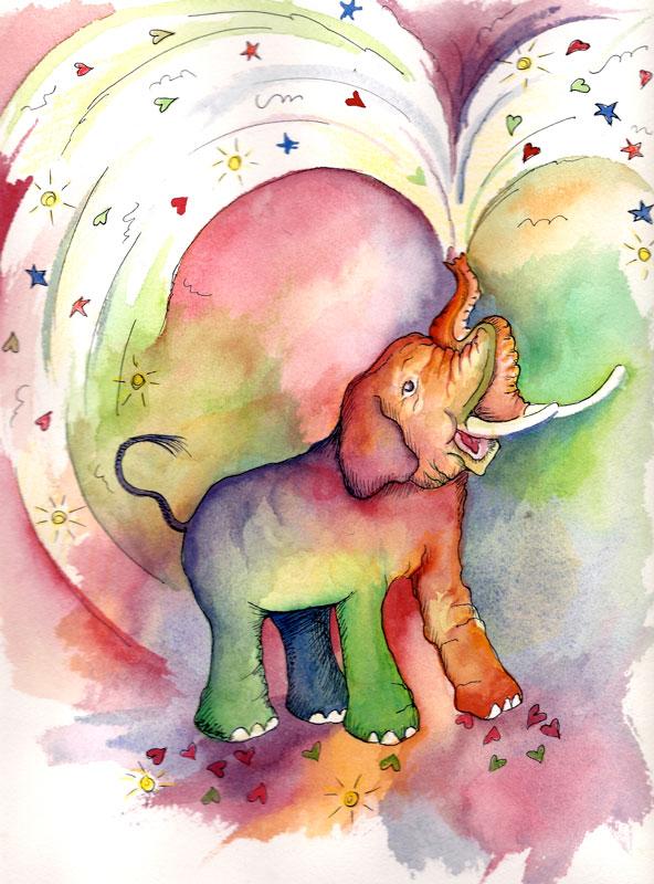 Sweet Treats Elephant