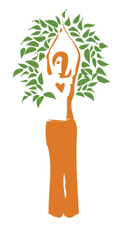 Dina Furman Lampe, Yoga Teacher Logo